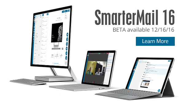 SmarterMail 16 BETA Available 12/16